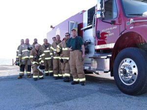 Fire Dept volunteers